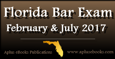 2017 Feb July FL Bar Exam